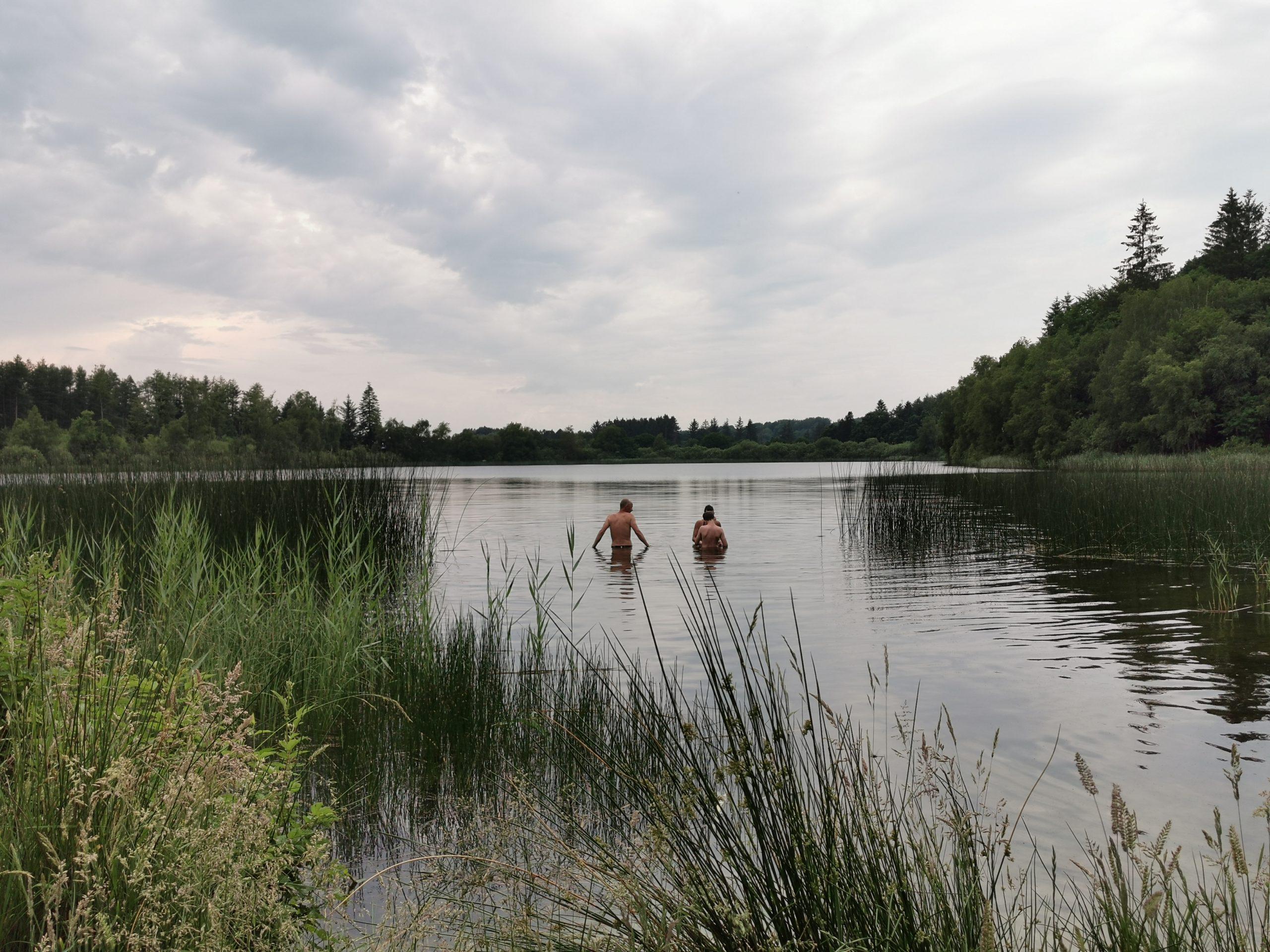 Badetur til Karlsø