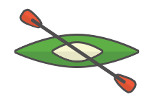 Kajak ikon